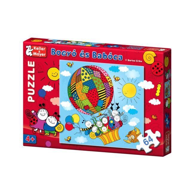 Bogyó és Babóca Puzzle Léghajó - 4 éves kortól - Keller & Mayer