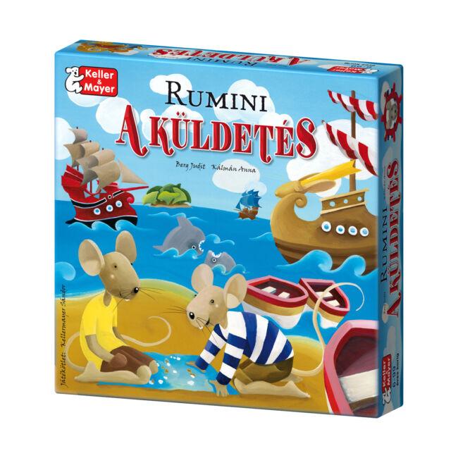 Rumini - A küldetés - családi társasjáték 6 éves kortól - Keller & Mayer