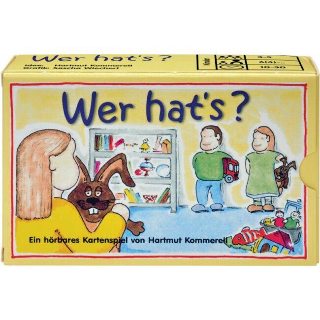 Kinél van? - Wer hat's? - gyerek társasjáték 4 éves kortól - Adlung