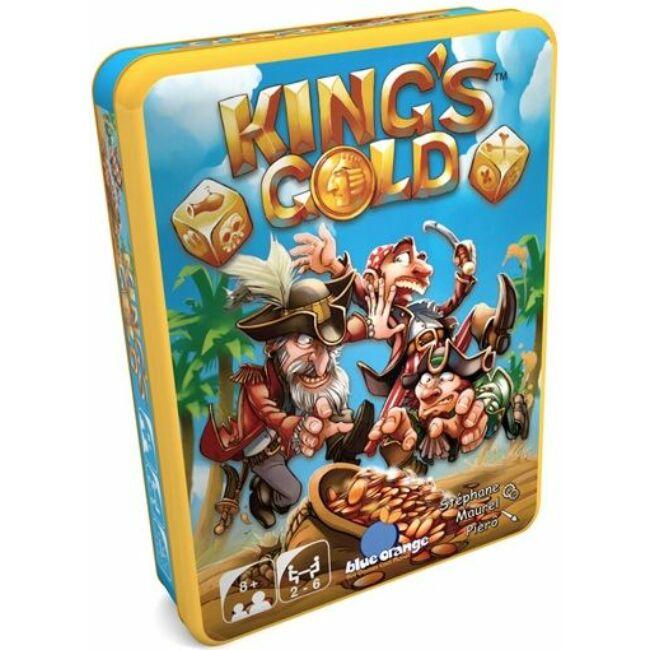 Kings Gold - családi társasjáték 8 éves kortól - Blue Orange