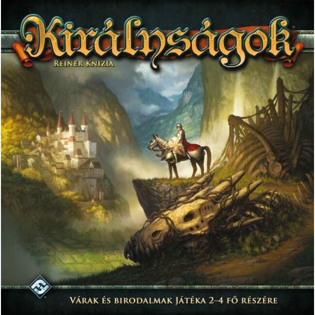 Királyságok - Kingdoms - magyar kiadás - stratégiai társasjáték 14 éves kortól - Delta Vision