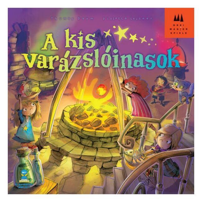 Kis varázslóinasok - Die Kleinen Zauberlehringe - képességfejlesztő társasjáték 5 éves kortól - Drei Magier Spiele