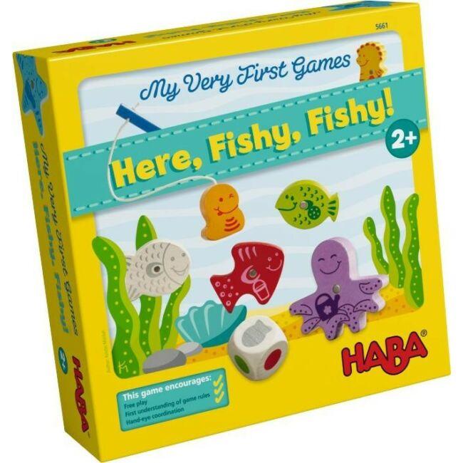 Első társasom - Horgászjáték - képességfejlesztő társasjáték 2 éves kortól - HABA - Egyszerbolt