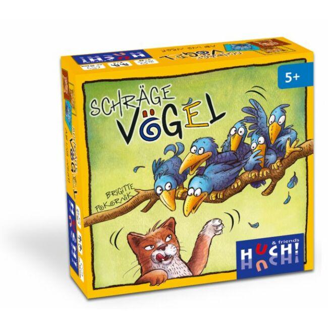 Madár a pácban - Schrage Vögel - gyerek képességfejlesztő társasjáték 5 éves kortól - Hutter