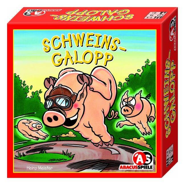 Malacvágta - Schweinsgalopp - családi és gyerek társasjáték 6 éves kortól - Abacusspiele