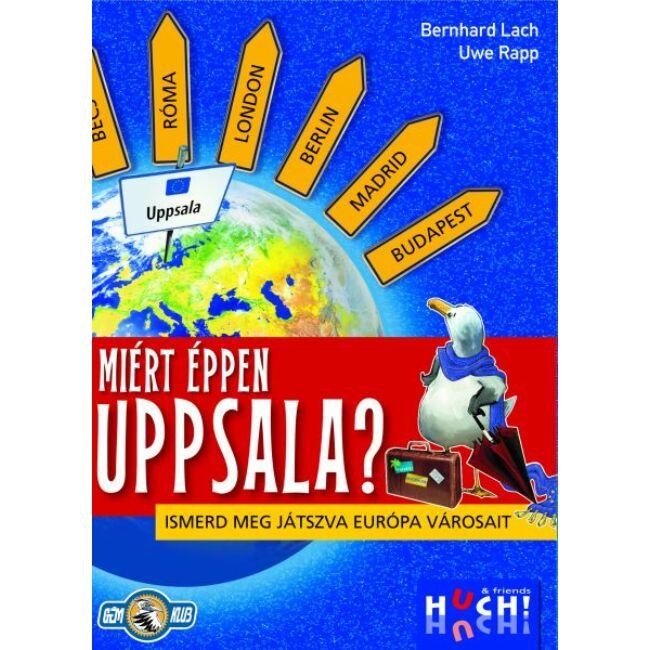 Miért éppen Uppsala? Ismerd meg játszva Európa városait! - gyerek képességfejlesztő társasjáték 10 éves kortól - Hutter