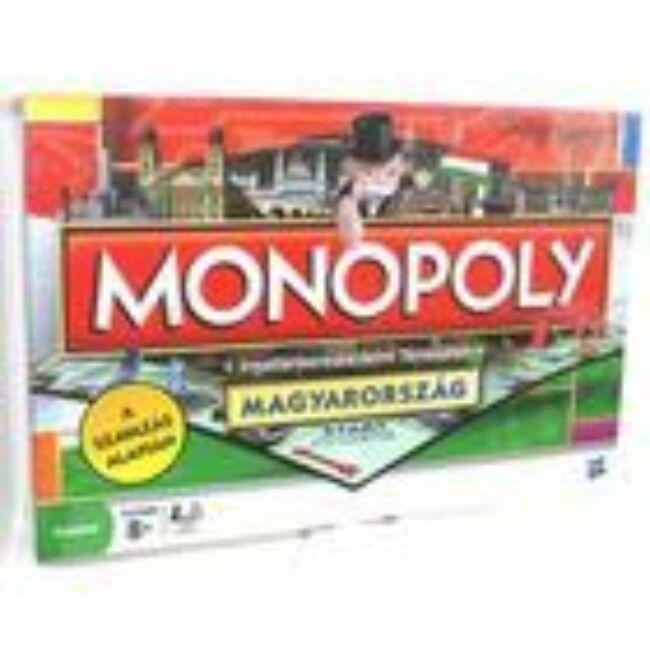 Monopoly Magyarország - családi társasjáték 8 éves kortól - Hasbro