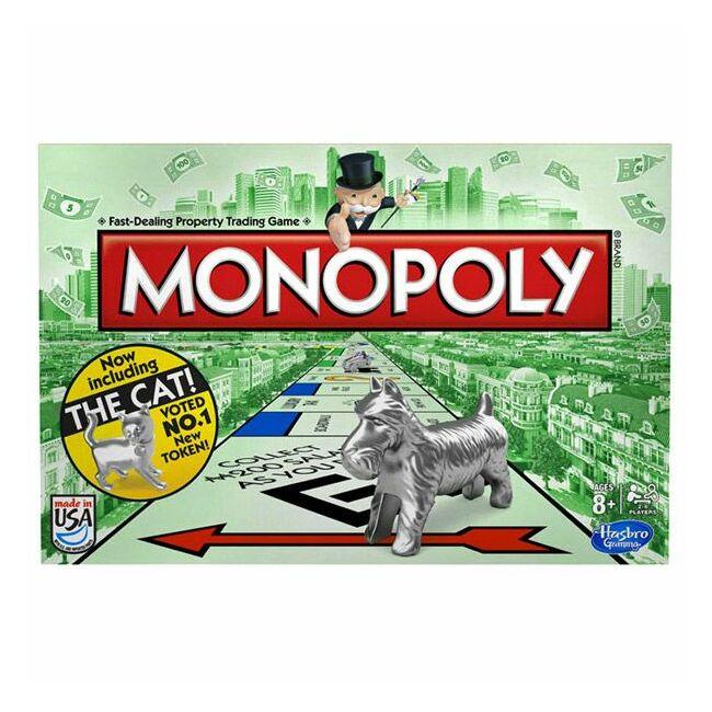 Monopoly - családi társasjáték 8 éves kortól - Hasbro