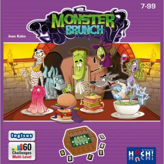Monster Brunch - gyerek képességfejlesztő és logikai társasjáték 7 éves kortól - Hutter
