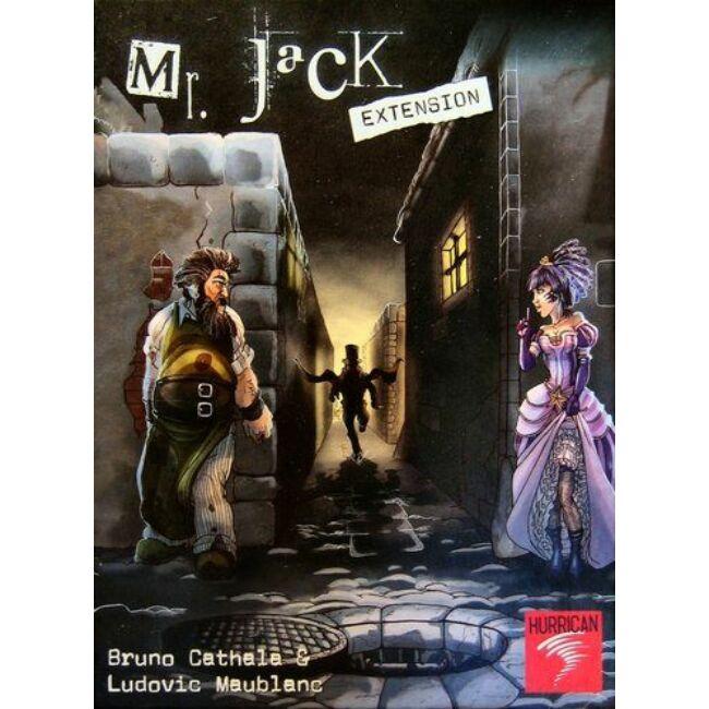 Mr. Jack kiegészítő - családi stratégiai társasjáték 9 éves kortól - Hurrican Games