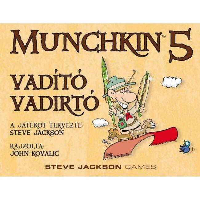 Munchkin 5 - Vadító vadirtók - magyar kiadás - stratégiai társasjáték 12 éves kortól - Delta Vision