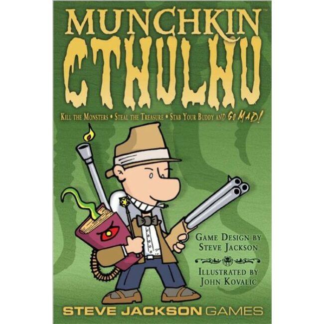 Munchkin Cthulhu - magyar kiadás - stratégiai társasjáték 10 éves kortól - Delta Vision