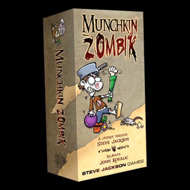 Munchkin Zombik - magyar kiadás - társasjáték - Delta Vision
