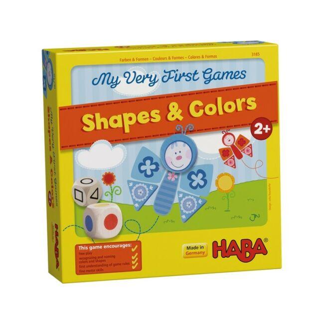 Első Társasom - Színek és Formák - képességfejlesztő társasjáték 2 éves kortól - HABA - Egyszerbolt