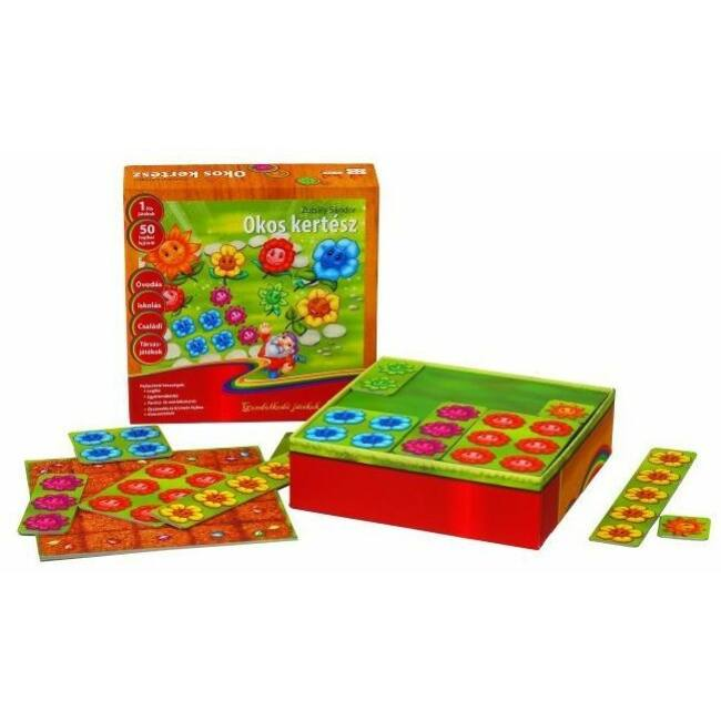 Okos kertész - logikai társasjáték 4 éves kortól - Gémklub