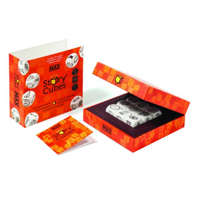 Óriás Sztorikocka - Story Cubes max - képességfejlesztő társasjáték 8 éves kortól - The Creativity Hub