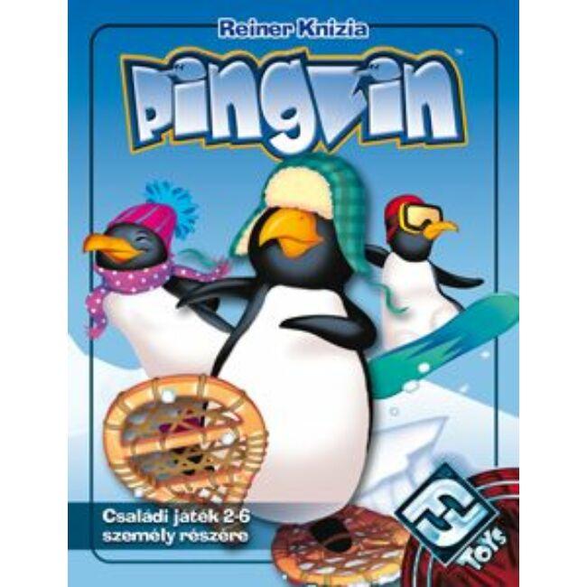 Pingvin - magyar kiadás - gyerek logikai társasjáték 8 éves kortól - Delta Vision