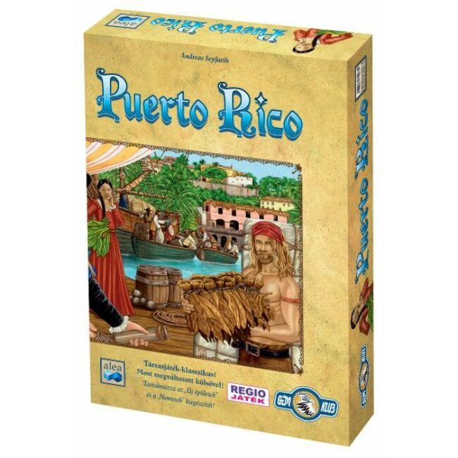 Puerto Rico - magyar kiadás - stratégiai társasjáték 12 éves kortól - Gémklub