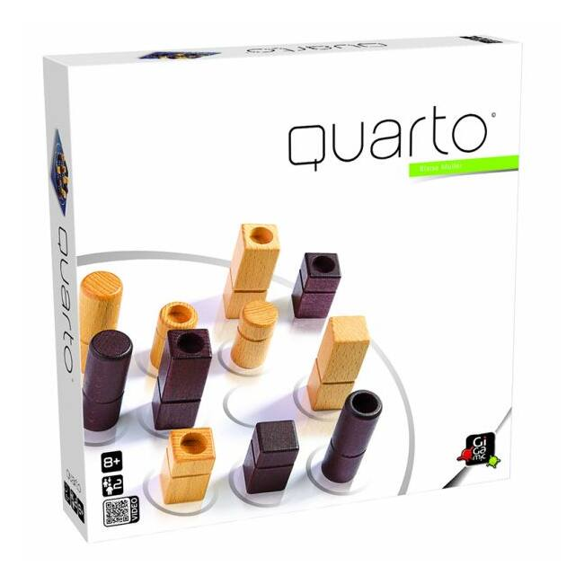 Quarto Classic - stratégiai társasjáték 6 éves kortól - Gigamic
