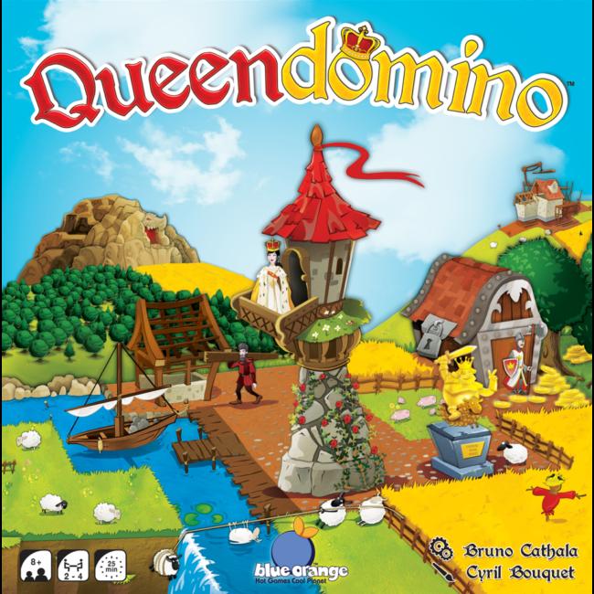 Queendomino családi társasjáték 8 éves kortól - Egyszerbolt Társasjáték Webáruház