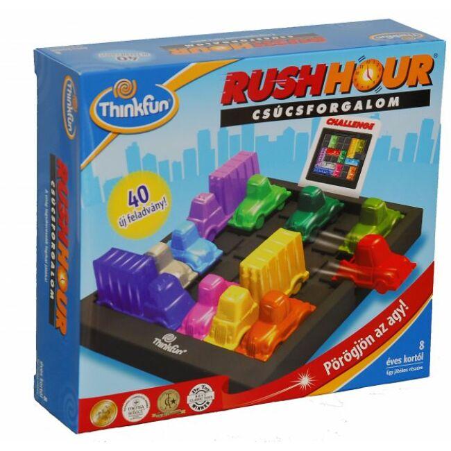 Rush Hour - Csúcsforgalom - magyar kiadás - társasjáték csúcsforgalom társasjáték 8 éves kortól - Thinkfun