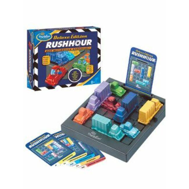 Rush Hour Deluxe Edition - logikai és képességfejlesztő társasjáték 8 éves kotól - ThinkFun