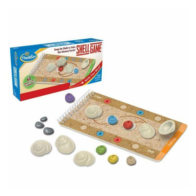 Shell Game - logikai képességfejlesztő  társasjáték 8 éves kortól - ThinkFun