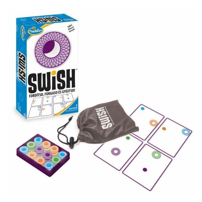 Swish - magyar kiadás - gyerek képességfejlesztő társasjáték 8 éves kortól - ThinkFun