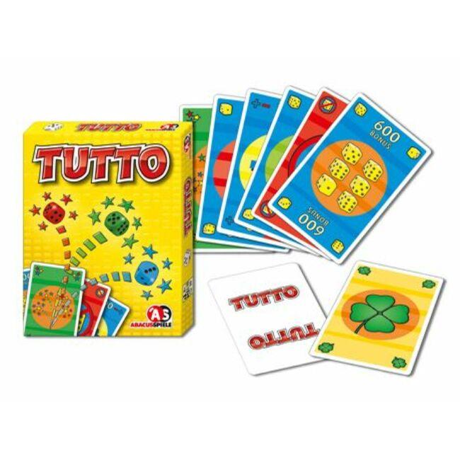 Tutto! - családi és gyerek tásasjáték 8 éves kortól - Abacusspiele