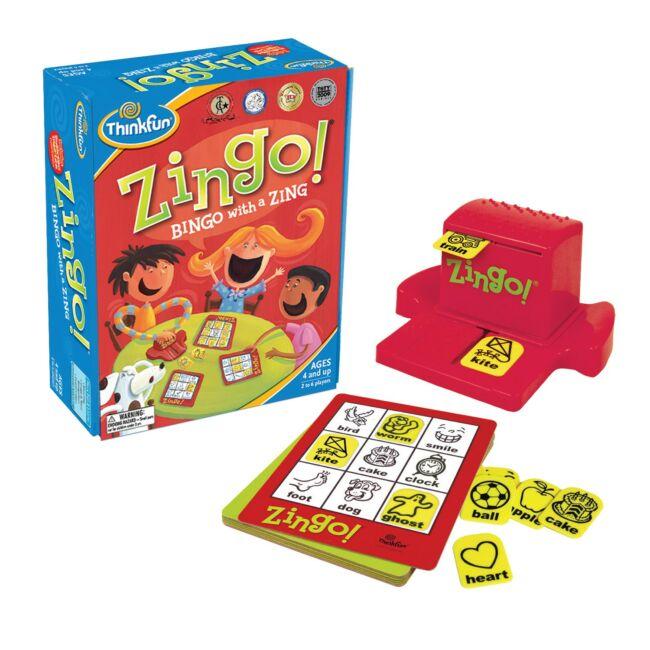Zingo - magyar kiadás - gyerek társasjáték 4 éves kortól - ThinkFun