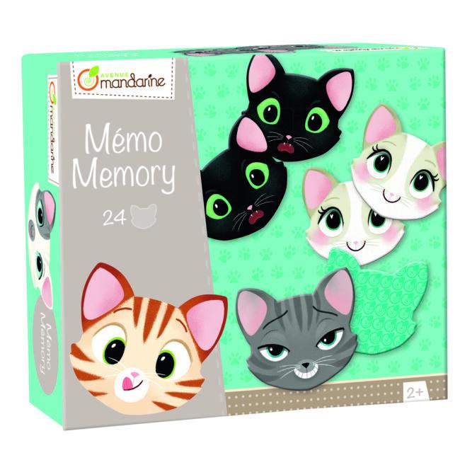 Cicák - memóriajáték - Avenue Mandarine - játék 2 éves kortól - Egyszerbolt Társasjáték