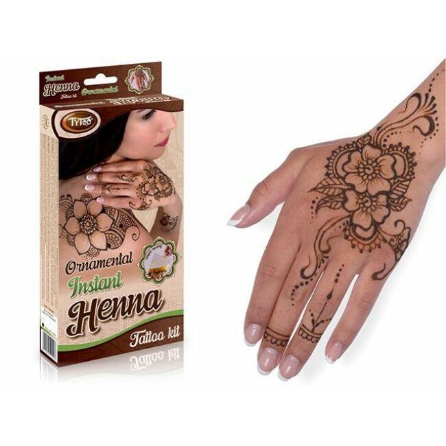 Instant Ornamental Henna Szett - Egyszerbolt Társasjáték
