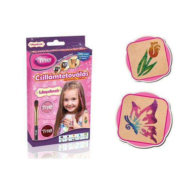 Kislányos Mini Csillámtetoválás - Tytoo - Egyszerbolt