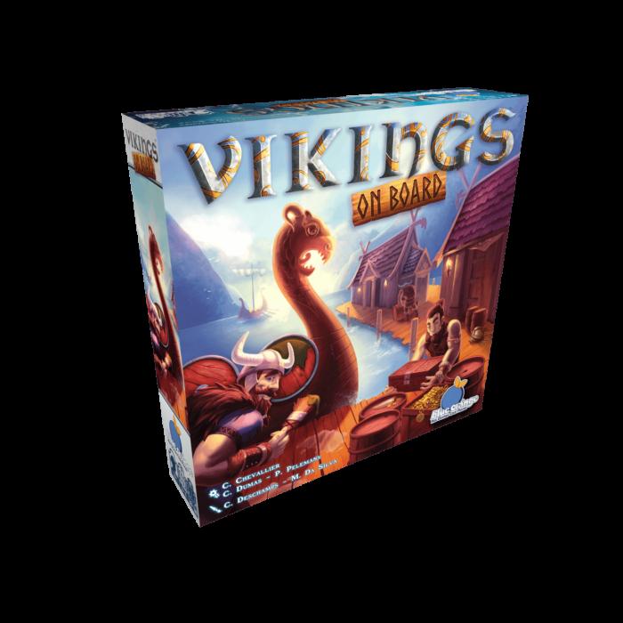 Vikings on board - Egyszerbolt Társasjáték Webáruház