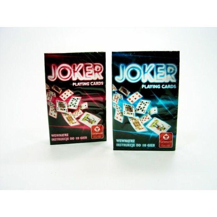 Joker standard römi kártya, kék-piros hátlappal - Egyszerbolt Társasjáték Webáruház