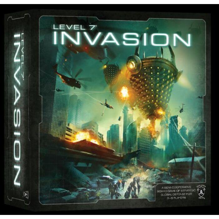 Level 7 [Invasion] - Egyszerbolt Társasjáték Webáruház