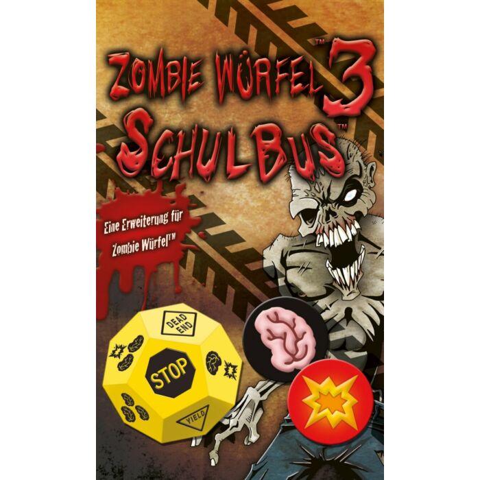 Zombie Würfel 3: Schulbus (Zombie Dice kiegészítő) - Egyszerbolt Társasjáték Webáruház