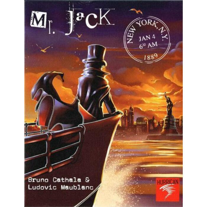 Mr. Jack in New York stratégiai játék 14 éves kortól - Egyszerbolt Társasjáték Webáruház
