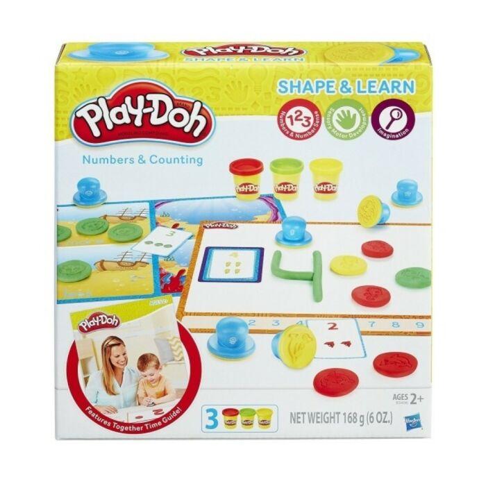 Play-Doh Számok és Számlálás gyurmakészlet - 2 éves kortól - Egyszerbolt