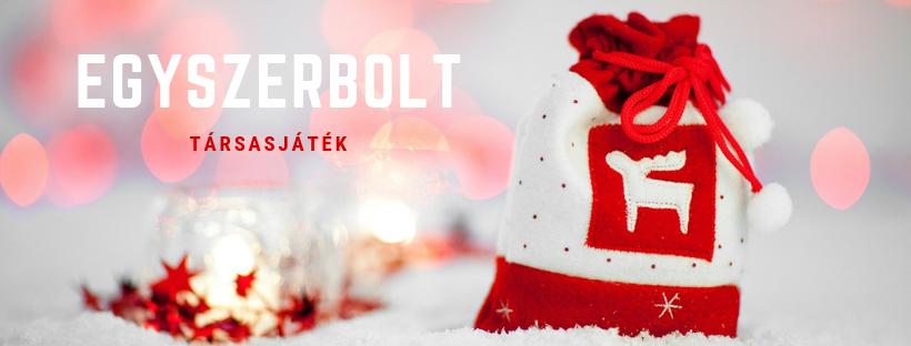 Karácsony - Egyszerbolt társasjáték