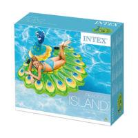 Intex 57250 Páva sziget matrac - 193 x 163 x 94 cm