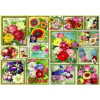 Flower Pictures - Bluebird 70474 - 1500 db-os puzzle