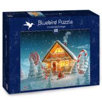 Christmas Cottage - Bluebird 70365 - 500 db-os puzzle - Egyszerbolt Társasjáték