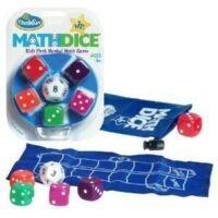 Math Dice Junior - logikai képességfejlesztő társasjáték 8 éves kortól - ThinkFun