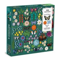 Butterfly Botanica 500 db-os puzzle, Galison