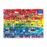 Rainbow Toy Cars 1000 db-os puzzle, Galison