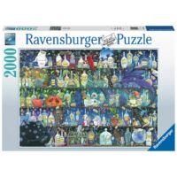 Ravensburger 16010 - A méregkeverő szekrénye - 2000 db-os puzzle