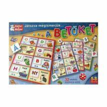 Játszva megismerjük - a betűket - Egyszerbolt Társasjáték Webáruház