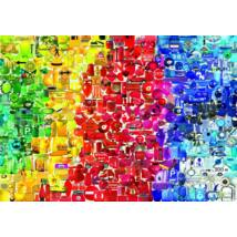 Coloured things - Bluebird 70484 - 1000 db-os puzzle