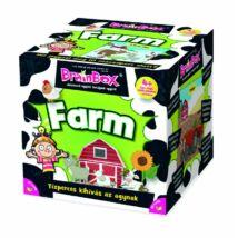 Brainbox - Farm - 4 éves kortól - Egyszerbolt Társasjáték Webáruház